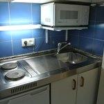 Mini kitchen..