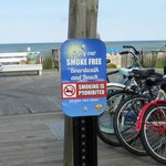 Smoke-Free Boardwalk & Beach