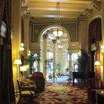 Hall into lobby