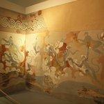 Mural from Akrotiri