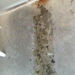 A/C unit leaking.. very slippery balcony
