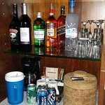 Bar in our Room