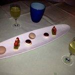 mini desserts and limoncello