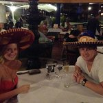 The Mexican restaurant!