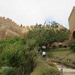 Vista de la Alcazaba