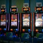 Casino in the lobby