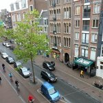 View of Spuistraat From Room