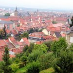 View from atop St. Michael's in Bamberg, Germany