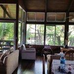 Spacious living room upstairs - loma linda residences
