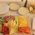 My wife sent room service!  (Low carbs)