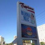 Front sign on Las Vegas Blvd