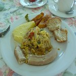 Jamaican Breakfast, Ackee and Saltfish