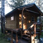 Our cabin. Felt like home!