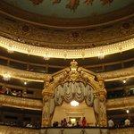Royal Box of Historic Mariinsky Theater