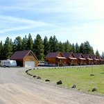 Perfect Photo of the Lodging Cabins