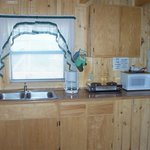 Kitchen Window and Counter-Top