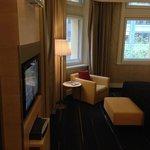sofa area  (king club room)