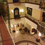 Dentro del hotel