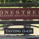 Stonestreet Winery...