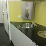 Water dispenser is available at each floor