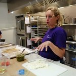Amy the Head Chef (and Jonie, the sous chef, on the side)
