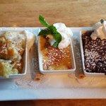 Desert trio-yum!