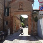 Exploring Ferrara on bike