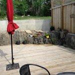 Lovely outdoor community area, Nature's Inn Kenora  |  1505 Erie Street, Keewatin, Kenora, Ontar