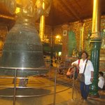 The giant Bell at the site of  the Pagoda