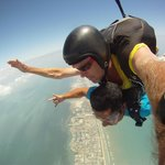 My instructor was cool and so was the freefall!