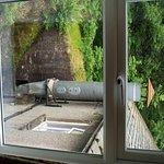 Noisy extractor from room window