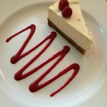 New York style baked cheesecake