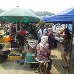 fish market at lu shun port