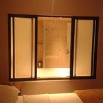 Bathroom (bedroom view)