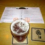 IPA and extensive beer menu