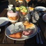 Wat een ontbijt!! Heerlijk