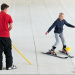 The ski slope is perfect for beginner and intermediate shiers to perfect their skills. We also h