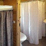 Badeværelse i hytten