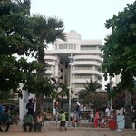 View of Hotel from Pattaya Beach
