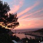 The wonderful sunset