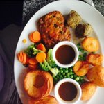 vegetarian sunday roast