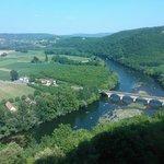 Prachtig uitzicht over de Dordogne
