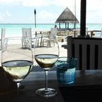 Lunch at the Reef Club