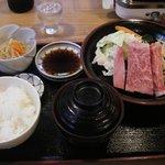 飛騨牛ロース定食