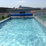 Roof-top outdoor pool