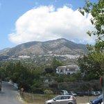 View towards Mijas