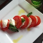 Tomato and Mozzarella salad - delicious!