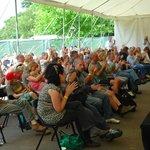Annual Folk Festival weekend every June