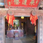 Shrine on the bridge