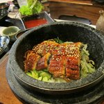 eel bibimbap from previous visit